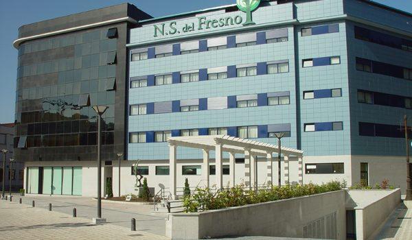 Langreo :: Residencia NS del Fresno :: Fachada
