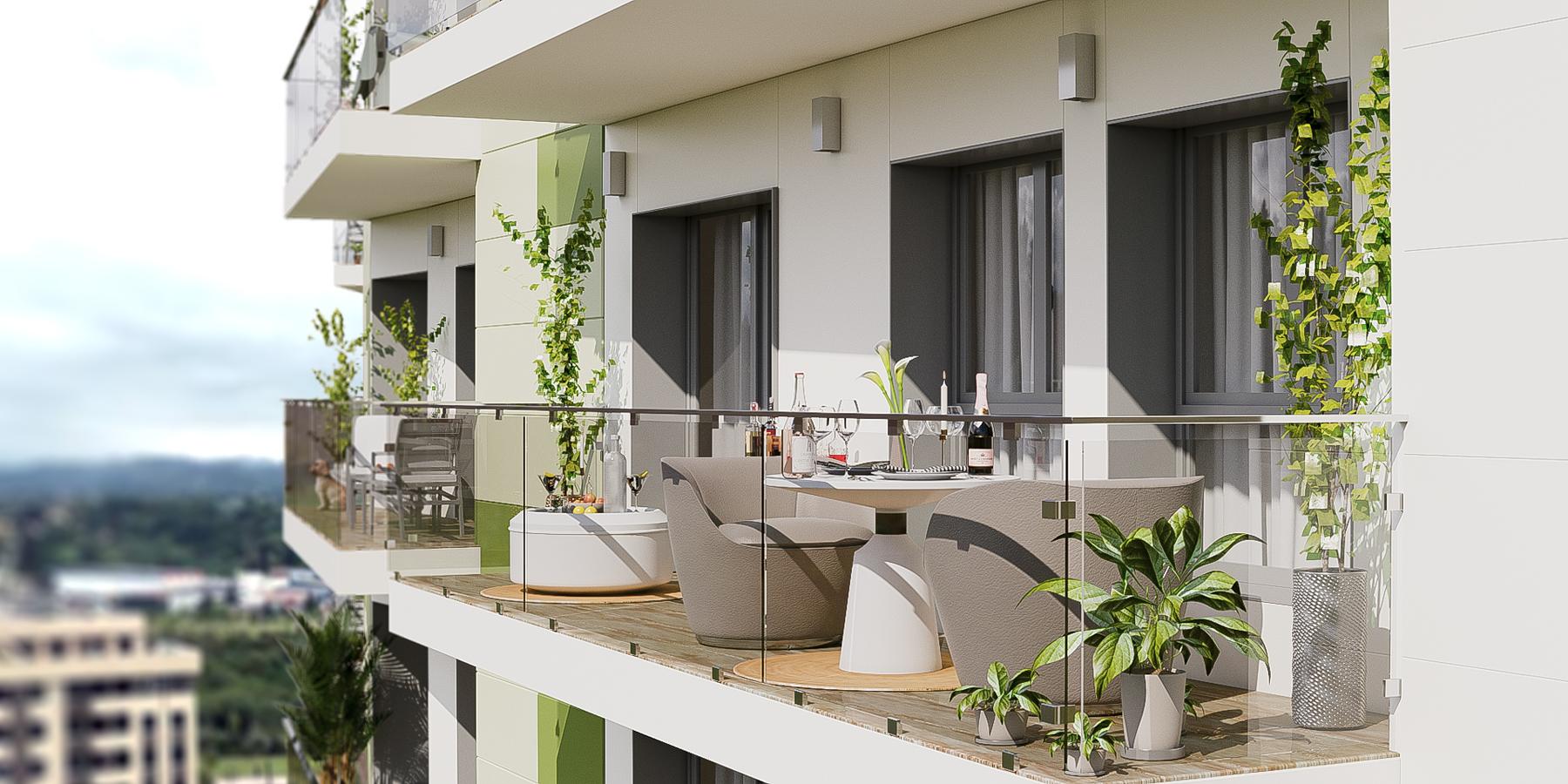 Piso-con terraza en Oviedo
